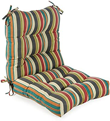 Amazon.com : Greendale Home Fashions Outdoor Seat/Back ...