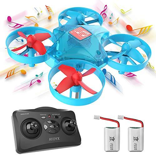 ATOYX Mini Drone Enfant de Musique, Jouet de Drone à Distance pour Les Enfants et Les...