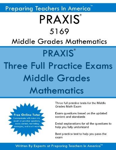 PRAXIS 5169 Middle School Mathematics: PRAXIS 5169 Math Exam