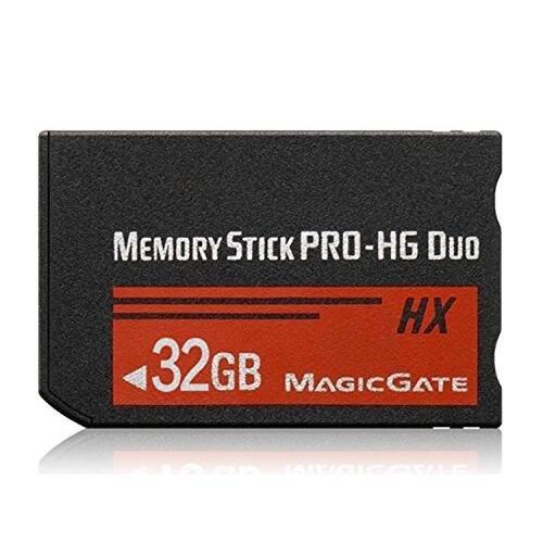 Original Memory Stick Pro- Duo 32GB (MSHX) für PSP Zubehör / Kamera Speicherkarte