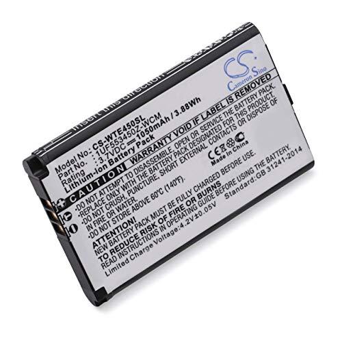 vhbw Li-ION Batterie 1050mAh pour Tablette Tablet Bamboo CTH-470K-RU, CTH-470K-xx, CTH-470S-DE, CTH-470S-EN, CTH-470S-ES, CTH-470S-FR, CTH-470S-IT