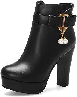 BalaMasa Womens ABS14006 Pu Boots
