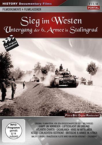 Sieg im Westen - Untergang der 6. Armee in Stalingrad