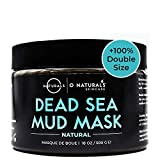 Dead Sea Mud Mask for Face & Body. Best for Acne. Organic Deep Pore Minimizer & Cleansing Pore Vacuum for Oily Skin. Blackhead Remover Healing Exfoliating Skin Care for Men & Women 18oz
