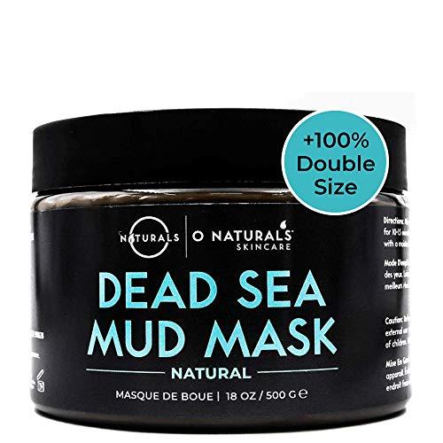 Dead Sea Mud Mask für das Gesicht und den Körper Mitteser Frauen Porenreiniger Anti-Mitteser Schlamm Maske gegen Akne für fettige Haut Peeling Hautpflege Frauen & Männer 500g