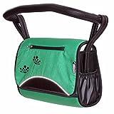 Zekiwa 803/862-10 komfortable Wickeltasche zum Kinderwagen Dessin: Dark Green