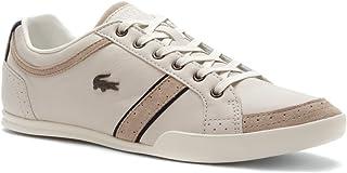 69d8bd32b0a Lacoste Men s Rayford Brogue SRM Off White Sneaker Shoes