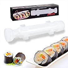AISHN Sushi Roller Kit Sushi Bazooka, Durable Camp Chef Rice Maker Machine Mold-for Easy Sushi Cooking Rolls Best kitchen ...
