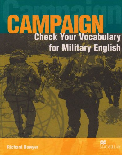 Check Your Vocabulary for Military English (Campaign Series Cover)