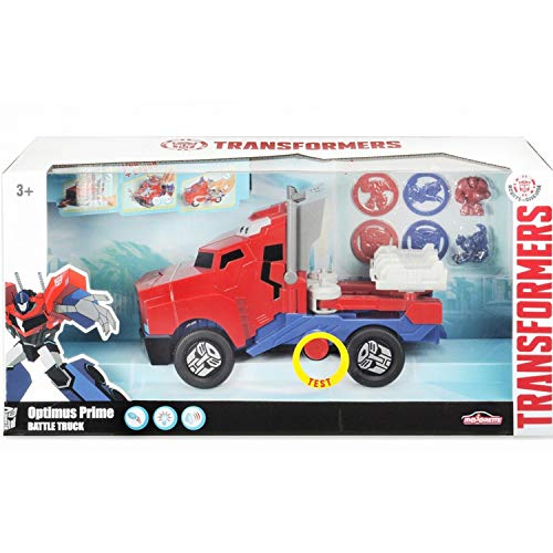 Majorette Smoby–213116003 Transformers LKW startet Festplatte