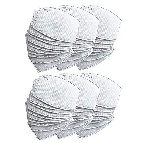 Austauschbares PM2.5-Aktivkohle-Filterpapier für Kinder und Erwachsene, mit 5 präzisen Schichten.