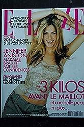 ELLE 2998 16 juin 2003 Jennifer ANISTON cover + 6 pages - Stephan EICHER - Axelle LAFONT - 164 pages