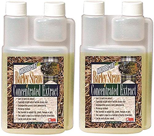 Microbe Lift MLCBSE500 Barley Straw Concentrated Extract Pond Conditioner (32 Ounces)