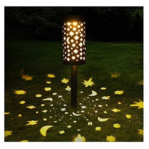 YGTMV 2021 Nuevas Luces solares al Aire Libre, Linterna de Hierro Forjado Luz Solar de césped Solar LED LED Light Light Jardin DE LUZ LUCTORES DE LLUSAS PAGOS PAGOS DE Pago-2