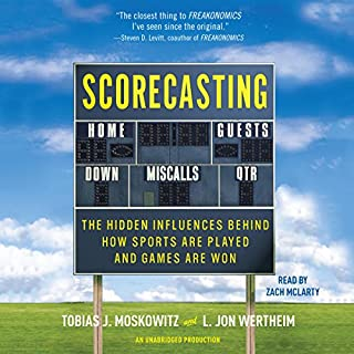 Scorecasting audiobook cover art