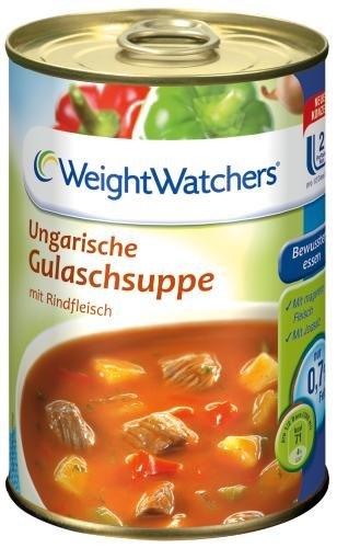 Weight Watchers Ungarische Gulaschsuppe, 6er Pack (6 x 400 ml Dose)