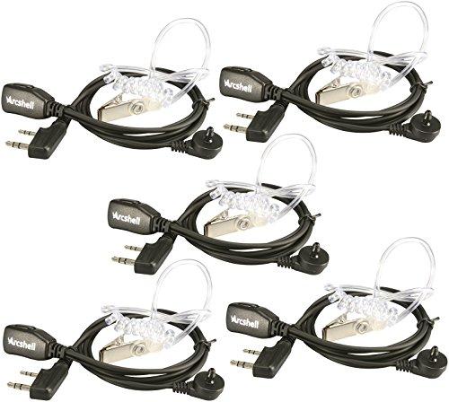 Best Deals! Arcshell Acoustic Tube Earpiece 5 Pack