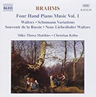Brahms: Four Hand Piano Music, Vol. 1 (1997-04-22)