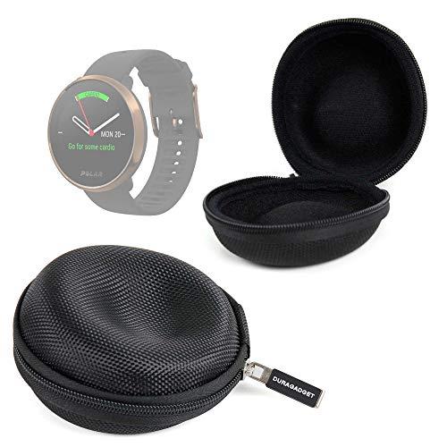 DURAGADGET Funda Negra Compatible con Smartwatch Suunto Spartan Sport Wrist HR, Suunto 9 Baro, Polar Ignite, Montblanc Summit 2 Guardar Su Dispositivo!