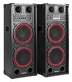 Fenton SPB-210 Conjunto Altavoces PA Activos 2X 10 Bluetooth