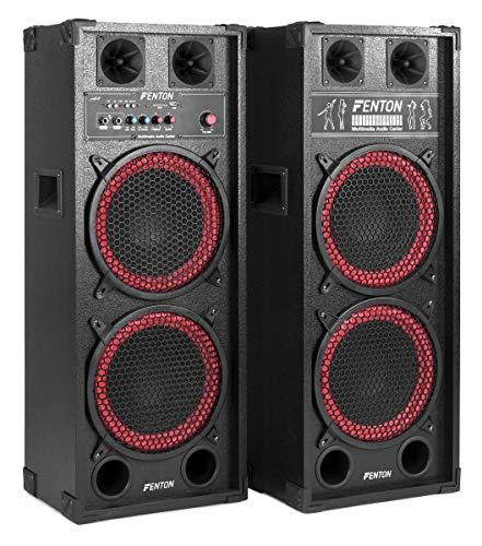 Fenton SPB-210 Conjunto altavoces PA Activos 2x 10' Bluetooth