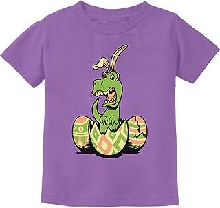 Tstars - T-Rex Bunny Easter Egg Funny Gift for Easter Toddler Kids T-Shirt