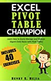 Pivot Tables Champion: Learn to create Excel Pivot Tables like a Pro to Summarize and Manage Giant Databases in Excel (Excel Champions Book 3) (English Edition)