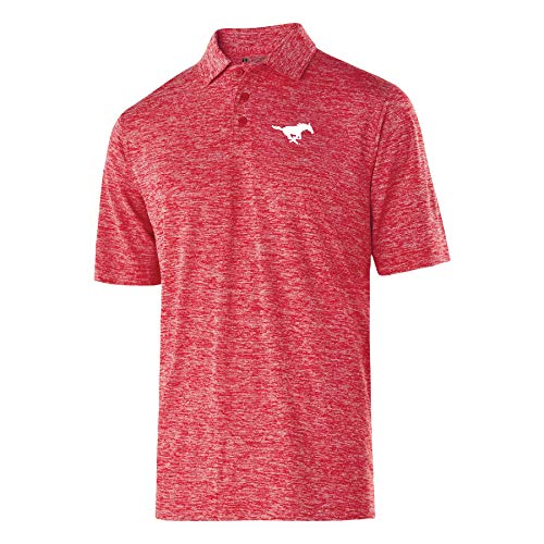 NCAA SMU Mustangs Herren PoloElectrify 2.0 PoloElectrify 2.0, Scarlet Heather, L