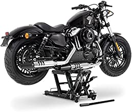 Elevador moto ConStands Mini-Lift L black por Yamaha XVS 650/ A Drag Star Classic, XVS 125/250/650 Drag Star, XVS 950/1300 A Midnight Star, XVZ 1300 A Royal Star, YBR 125/Custom