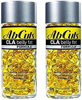 Ab Cuts CLA Belly Fat Burner Formula, 240 Softgels (2 Pack of 120)