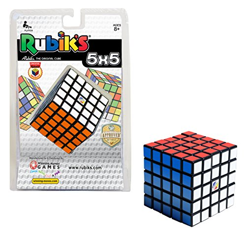 Rubik's Cube | 5x5 Professor's Cube Colour-Matching Puzzle, Highly Complex Problem-Solving Toy