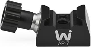 Wimberley AP-7 Universal Cold Shoe Mount Adapter with Anti-Rotation for Flashes, LED Lights, Monitors and Other Accessories - 1/4-20 - Made in USA
