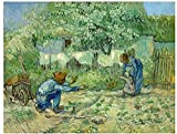 JYSHC Jigsaw Puzzle 1000 Piezas Van Gogh First Step Réplica Carteles Madera Juguetes para Adultos Juego De Descompresión Gt139Cx