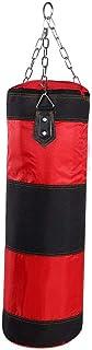 comprar comparacion Akozon Boxeo Saco de boxeo pesado Bolsa de arena para principiantes de 12 kg Ejercicios Workout Power Bag con cadenas Guan...