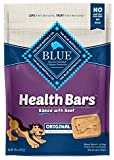 Blue Buffalo Health Bars Natural Crunchy Dog Treats Biscuits, Beef 16-oz bag