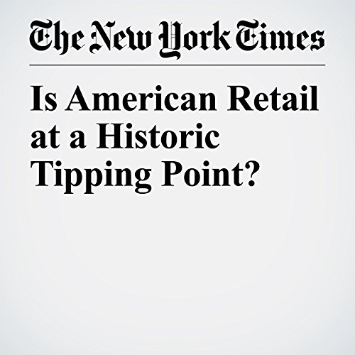 Is American Retail at a Historic Tipping Point? copertina