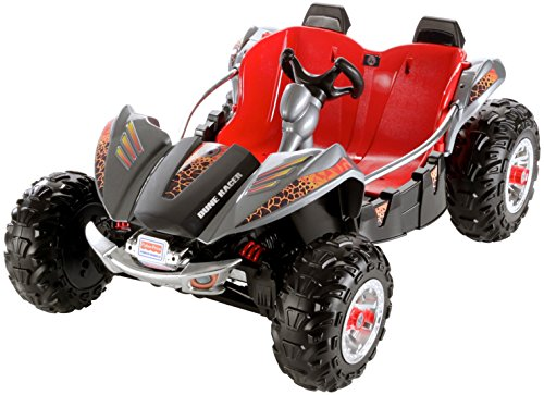 Fisher-Price Power Wheels Dune Racer Lava Red and Black