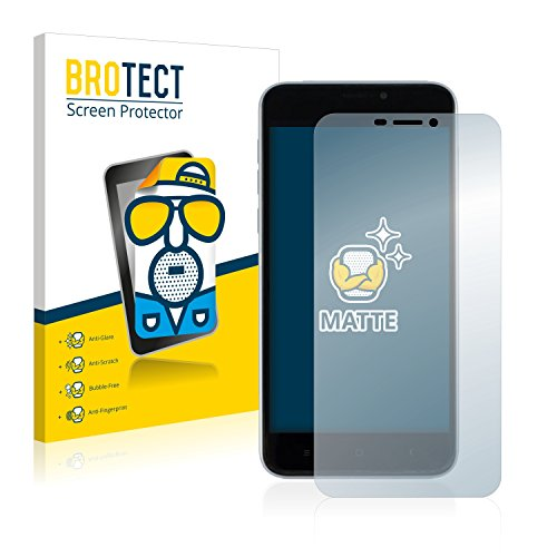 BROTECT 2X Entspiegelungs-Schutzfolie kompatibel mit Oukitel U20 Plus Bildschirmschutz-Folie Matt, Anti-Reflex, Anti-Fingerprint