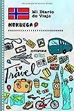 Noruega Mi Diario de Viaje: Libro de Registro de Viajes Guiado Infantil - Cuaderno de Recuerdos de Actividades en Vacaciones para Escribir, Dibujar, Afirmaciones de Gratitud para Niños y Niñas