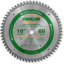 Oshlun SBW-100060N 10-Inch Tooth Saw Blade Review