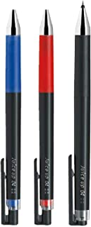 パイロット ゲルインキボールペン ジュースアップ04(超極細)ブラック/レッド/ブルー LJP-20S4-B/R/L 3色3本組み