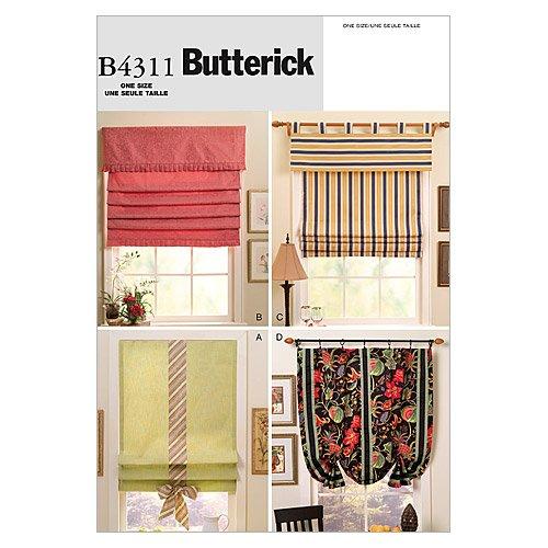 Butterick Patterns B4311Fenster Lampenschirme, alle Größen