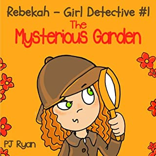 Rebekah - Girl Detective #1 audiobook cover art