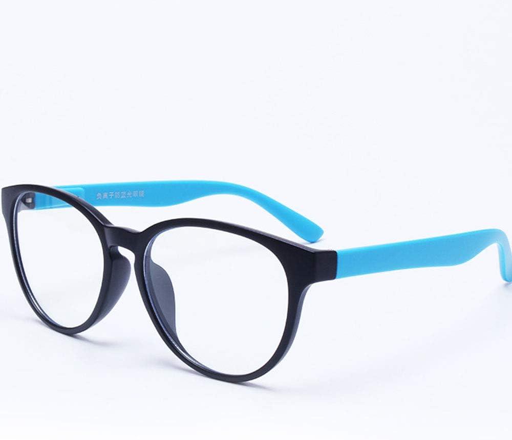 Gafas Luz Azul Gafas De Moda PC Unisex De Iones Negativos Para Teléfonos Móviles Con Computadora De Juegos PS4, Absorben Luz Azul De Alta Energía, Protección UV, Protección Contra La Radiación,F