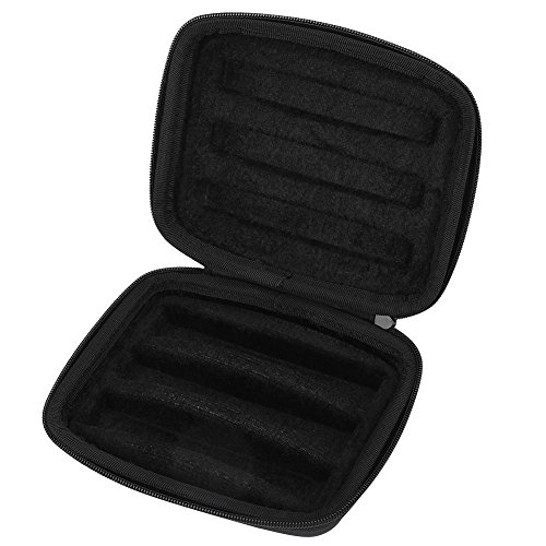 Harmonica Storage Case, Portable Carrying Pouch for 3 Harmonicas with 10 Holes