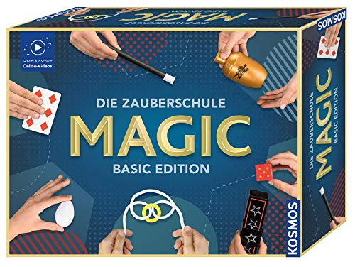 KOSMOS 698904 Die Zauberschule MAGIC Basic Edition, Zauberkasten