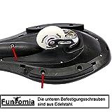 FunTomia Waveboard mit LED Rollen und Mach1 Lager inkl. Tasche und CD (Schwarz / Weiß Design2 – mit LED Rollen) - 9