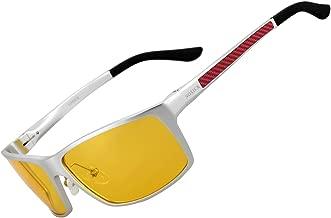 Night Vision Glasses for Driving - SOXICK Anti Glare Polarized HD Driver Glasses For Men Women