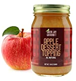 THE TASTE OF REAL APPLES: Green Jay Gourmet Apple Dessert Topping is made from premium, handpicked, locally sourced apples; A delicious alternative to apple sauce & apple pie filling GOES HAND IN HAND WITH EVERY DESSERT: Use it as a topping on any de...