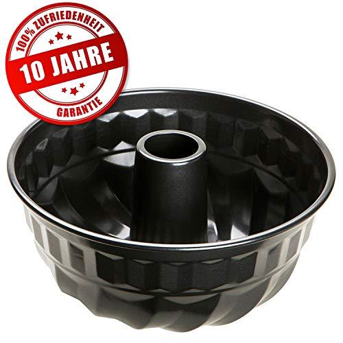 Prestige Gugelhupf Backform - Runde Backform mit spezieller Antihaftbeschichtung - Schnelle und optimale Hitzeverteilung - Ø22 cm Kuchenform
